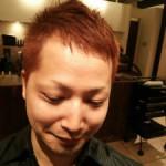 【メンズスタイル】薄毛隠しには明るめカラー【刈り上げスタイル】