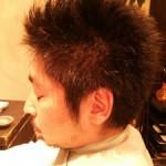 【メンズスタイル】顔周りをすっきり!前髪短め刈り上げスタイル