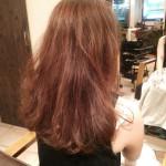 【縮毛矯正】くせ毛を生かした前髪だけ矯正スタイル【くせ毛】