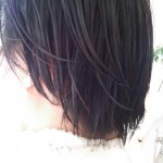 メンズスタイル スーツに似合う 前髪長め2ブロックヘア
