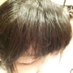 【縮毛矯正】前髪だけの縮毛矯正で顔周りのくせ毛を解決【くせ毛】