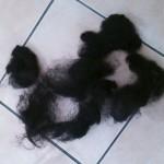 【アップヘアスタイル】人参型の梳き毛の作り方【ボリュームアップ】