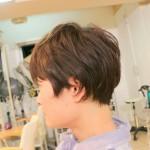 【ヘアカット】くせ毛をおさえる襟足すっきりショートスタイル