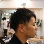メンズスタイル 前髪にアクセント