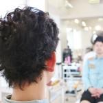 メンズスタイル 短髪にパーマをかける