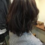 【ヘアカラー】ダメージヘアの褪色予防に予定より暗くする【ダメージヘア】