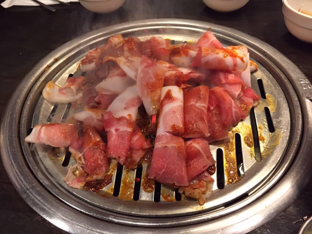 豚 焼肉 韓国