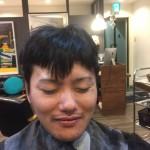 【メンズスタイル】男ウケのいい刈り上げ七三スタイル・艶出しセット