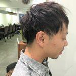 【メンズカット】後頭部の刈り上げ方の違い、イメージに近づける