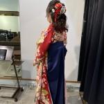 卒業式着付けとヘアセット【coma中野卒業式ヘア】