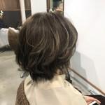 アッシュ系春カラー【comaヘアカラー】