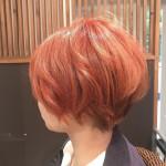 オレンジカラー【comaヘアカラー】
